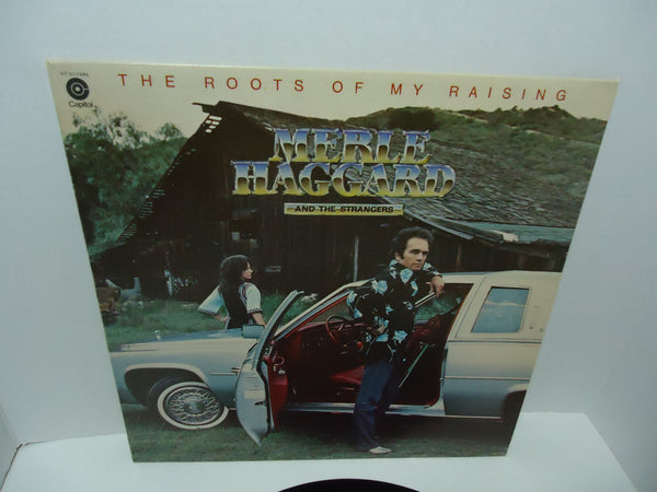 Merle Haggard And The Strangers ‎– The Roots Of My Raising LP Columbia House