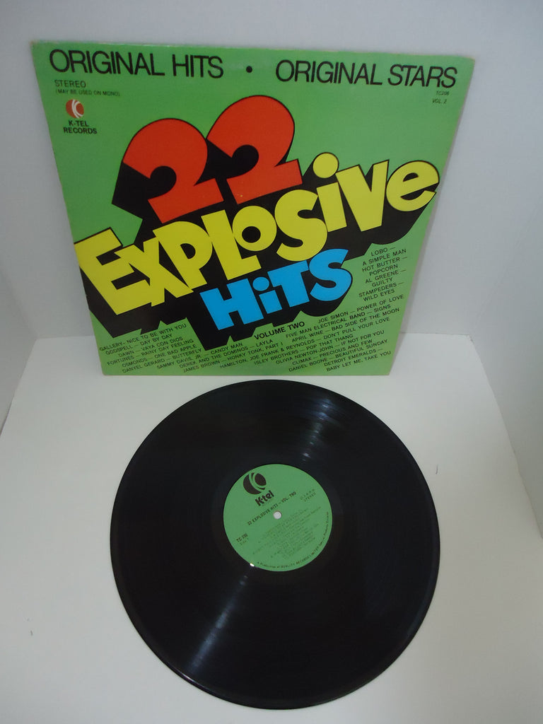 22 Explosive Hits - Volume Two [K-Tel] LP