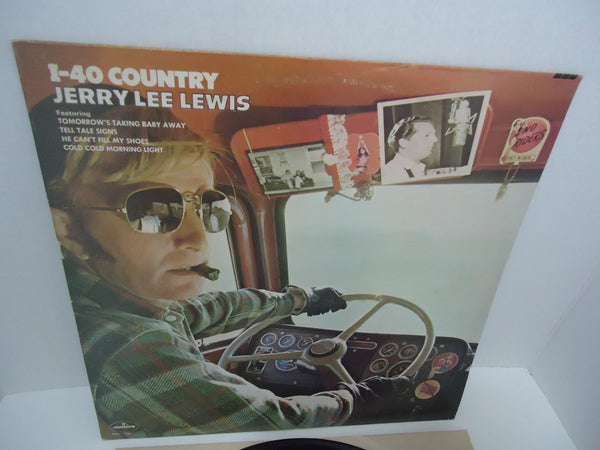 Jerry Lee Lewis ‎– I-40 Country LP