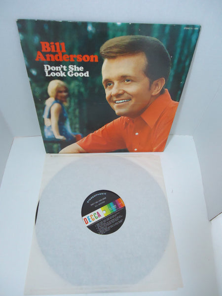 Bill Anderson – Don't She Look Good LP