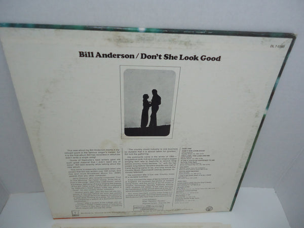 Bill Anderson – Don't She Look Good