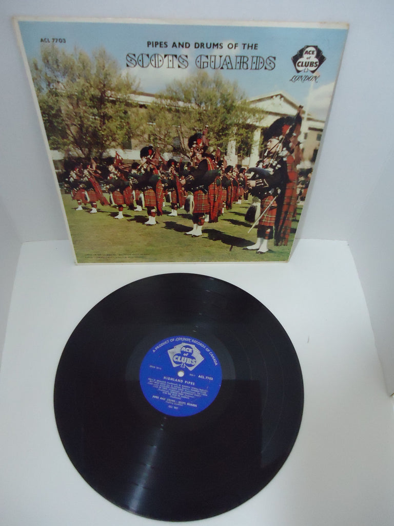 Pipes And Drums Of The Scots Guards Ace of Clubs LP