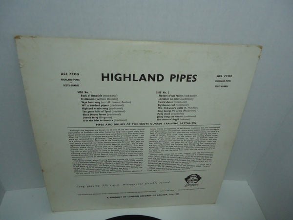 Pipes and Drums of the Scots Guards training battalion ACL.7703 LP