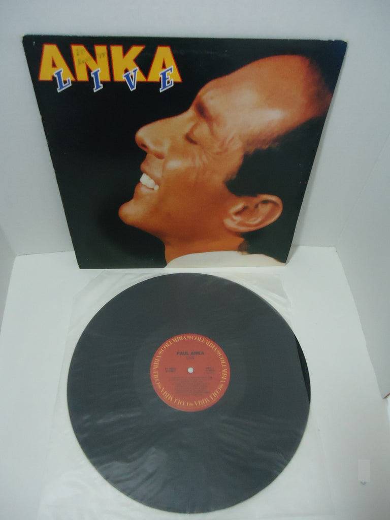 Paul Anka - Anka‎ Live LP