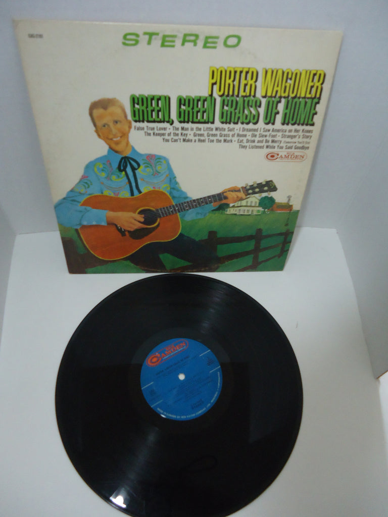 Porter Wagoner ‎– Green, Green Grass Of Home LP