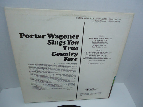 Porter Wagoner ‎– Green, Green Grass Of Home