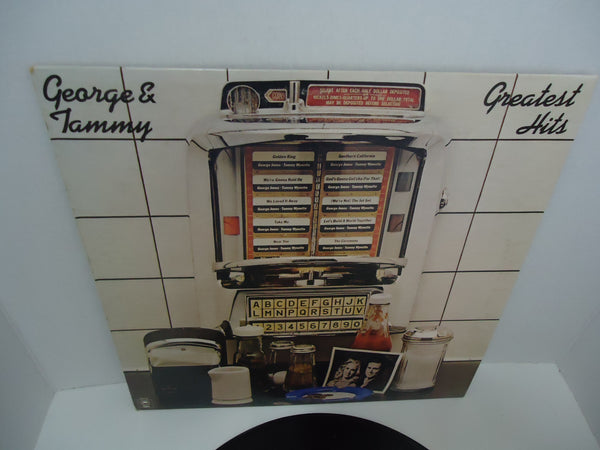 George Jones & Tammy Wynette ‎– Greatest Hits LP
