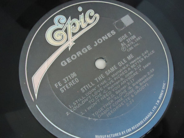 George Jones ‎– Still The Same Ole Me
