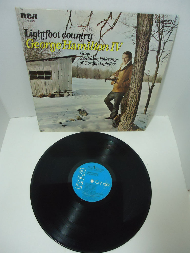 George Hamilton IV ‎– Lightfoot Country: Sings Canadian Folksongs Of Gordon Lightfoot LP