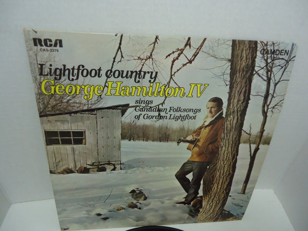 George Hamilton IV ‎– Lightfoot Country: Sings Canadian Folksongs Of Gordon Lightfoot LP RCA