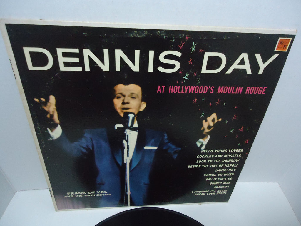 Dennis Day With Frank De Vol And His Orchestra ‎– At Hollywood's Moulin Rouge United States LP