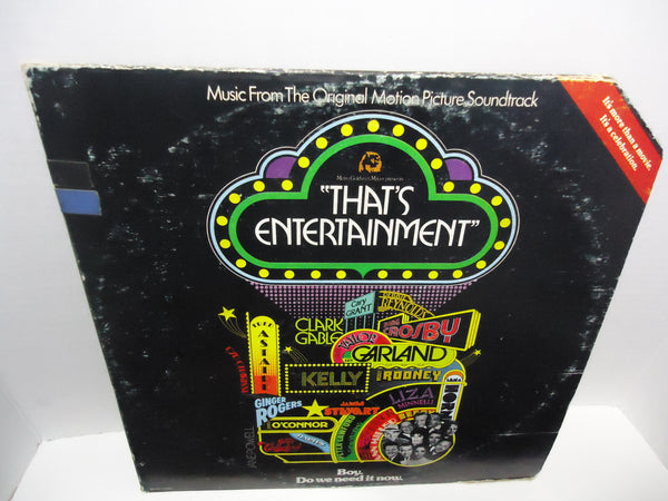 Various Artists ‎– Music From The Original Motion Picture Soundtrack - That's Entertainment [Double LP] [Gatefold] LP