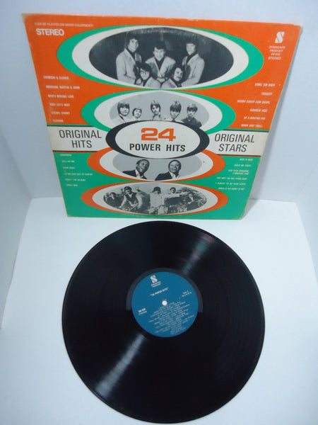 Various Artists ‎– 24 Power Hits LP