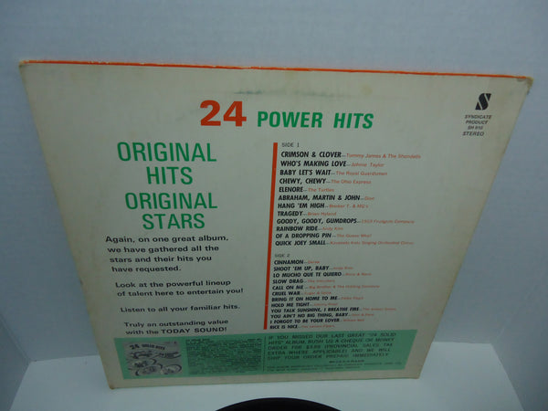 Various Artists ‎– 24 Power Hits
