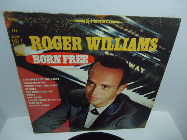 Roger Williams ‎– Born Free LP