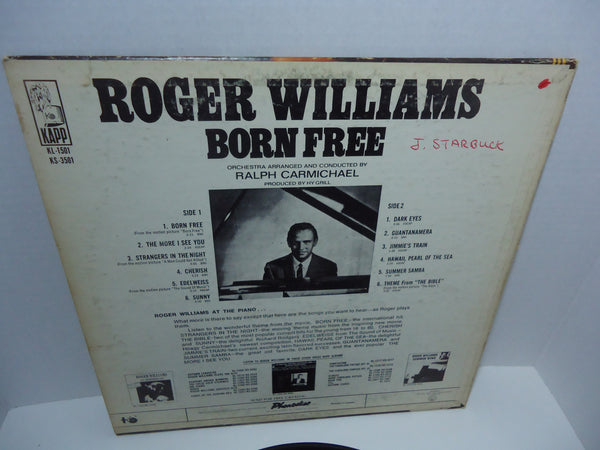 Roger Williams ‎– Born Free