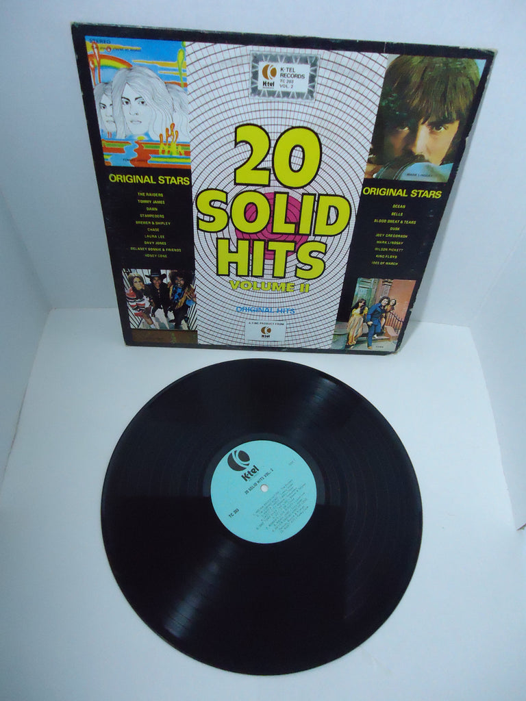 Various Artists ‎– 20 Solid Hits Volume II [K-Tel] LP