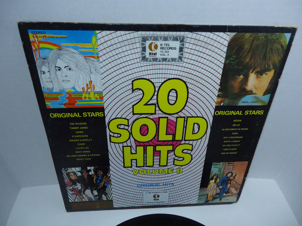 Various Artists ‎– 20 Solid Hits Volume II K-Tel Records LP