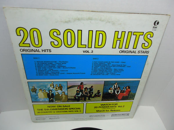Various Artists ‎– 20 Solid Hits Volume II [K-Tel]