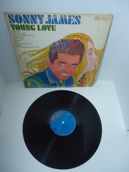 Sonny James ‎– Young Love Mono LP