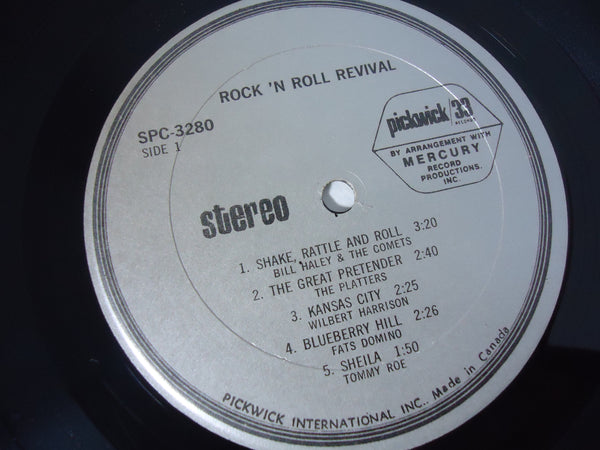 Various Artists ‎– Rock 'n' Roll Revival LP
