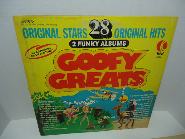 Various ‎Artists – Goofy Greats K-Tel Limited Edition LP