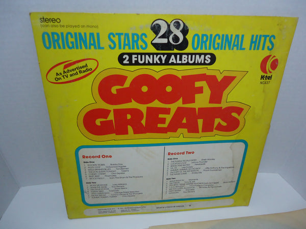 Various ‎Artists – Goofy Greats [K-Tel] [Limited Edition]
