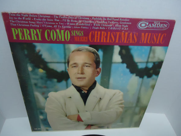Perry Como ‎– Sings Merry Christmas Music RCA Camden LP