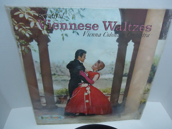 Vienna Colonade Orchestra ‎– Beautiful Viennese Waltzes Mono LP