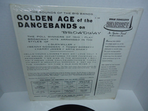 Various Artists - Golden Age of The Dance Bands On Broadway [Mono]
