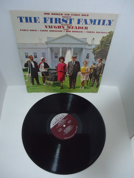 Bob Booker and Earle Doud featuring Vaughn Meader ‎– The First Family LP