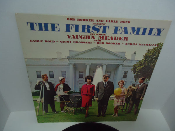 Bob Booker and Earle Doud featuring Vaughn Meader ‎– The First Family Mono LP