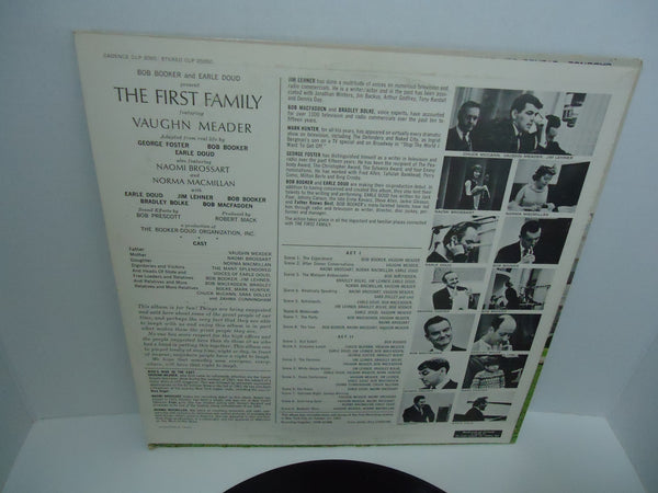 Bob Booker and Earle Doud featuring Vaughn Meader ‎– The First Family [Mono]
