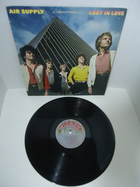 Air Supply ‎– Lost In Love LP