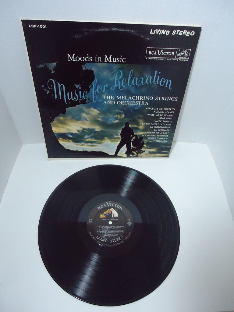 The Melachrino Strings And Orchestra ‎– Moods In Music: Music For Relaxation LP