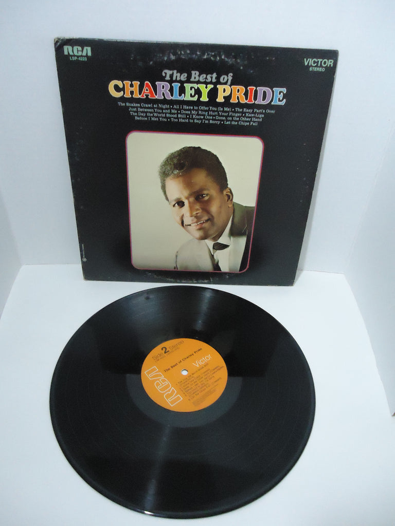 Charley Pride ‎– The Best Of Charley Pride LP