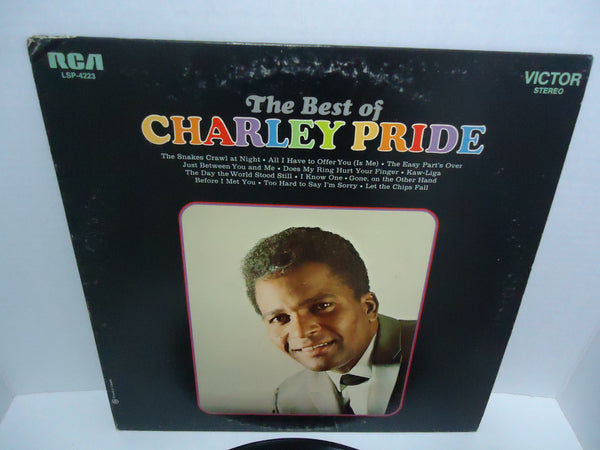 Charley Pride ‎– The Best Of Charley Pride LP Orange Label
