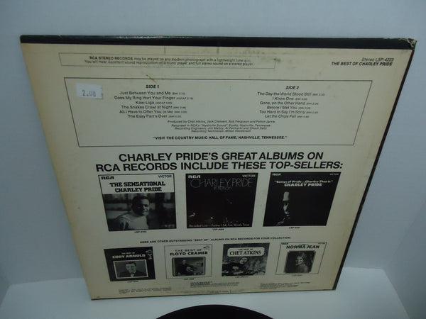 Charley Pride ‎– The Best Of Charley Pride