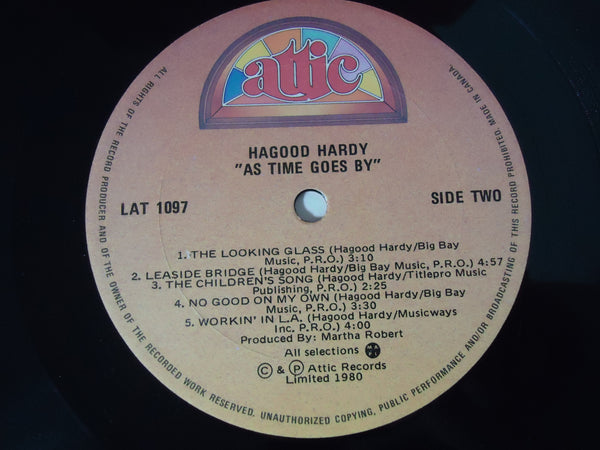 Hagood Hardy ‎– As Time Goes By
