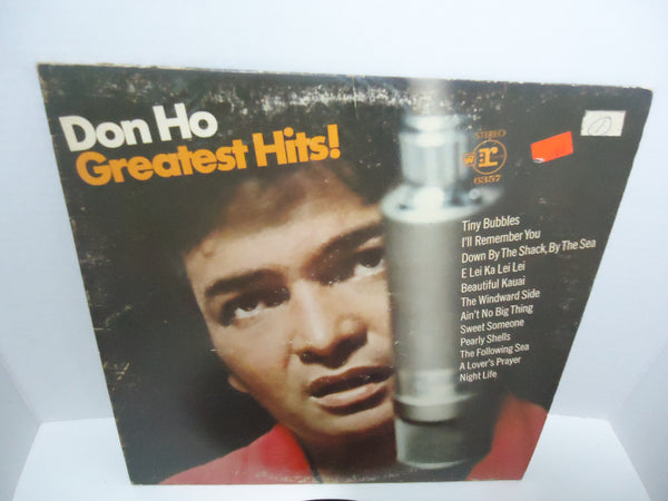 Don Ho And The Aliis ‎– Don Ho's Greatest Hits LP