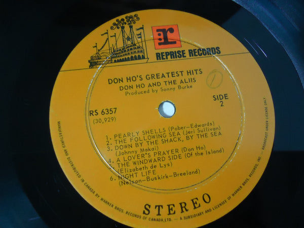 Don Ho And The Aliis ‎– Don Ho's Greatest Hits
