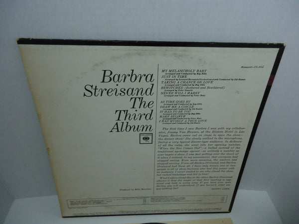 Barbra Streisand ‎– The Third Album [Mono]