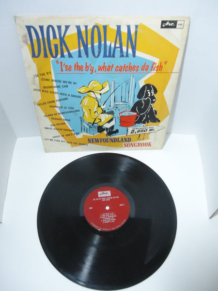 Dick Nolan ‎– I'se The B'y What Catches Da Fish Mono LP