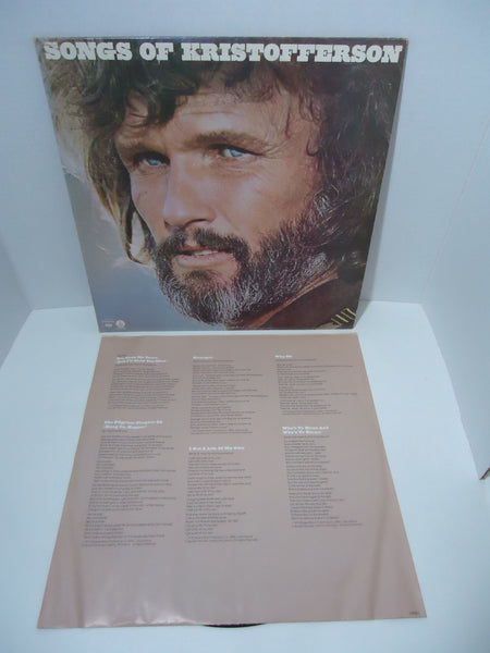 Kris Kristofferson ‎– Songs Of Kristofferson LP