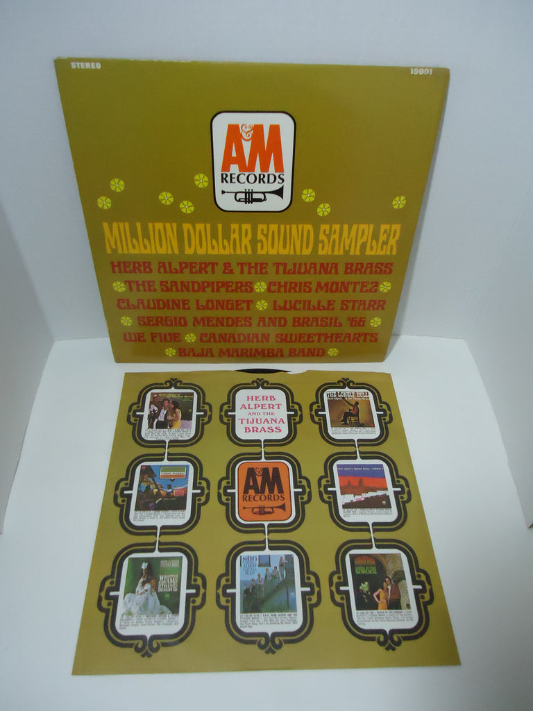 Various Artists ‎– Million Dollar Sound Sampler LP A&M Records