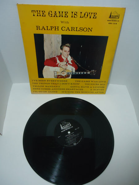Ralph Carlson - The Game Is Love  LP