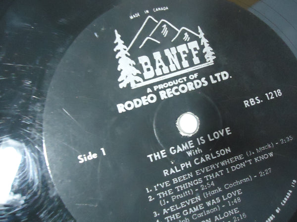 Ralph Carlson - The Game Is Love