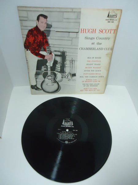 Hugh Scott ‎– Sings Country At The Chamberland Club LP