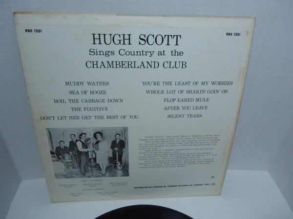 Hugh Scott ‎– Sings Country At The Chamberland Club
