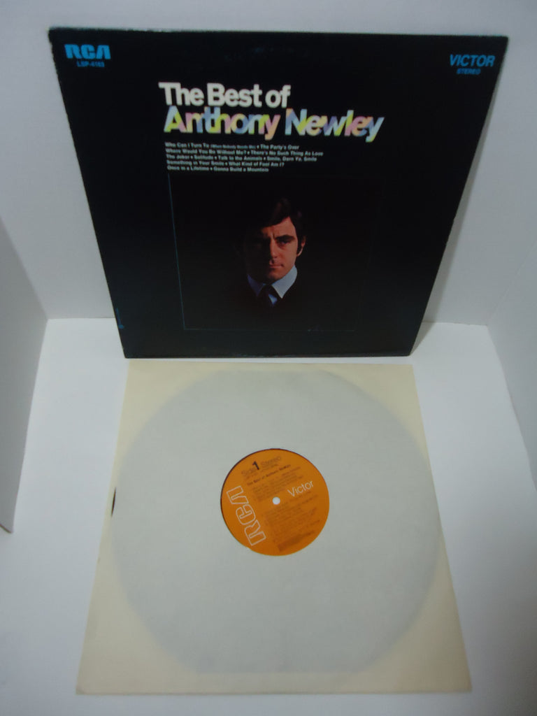 Anthony Newley ‎– Best Of Anthony Newley LP